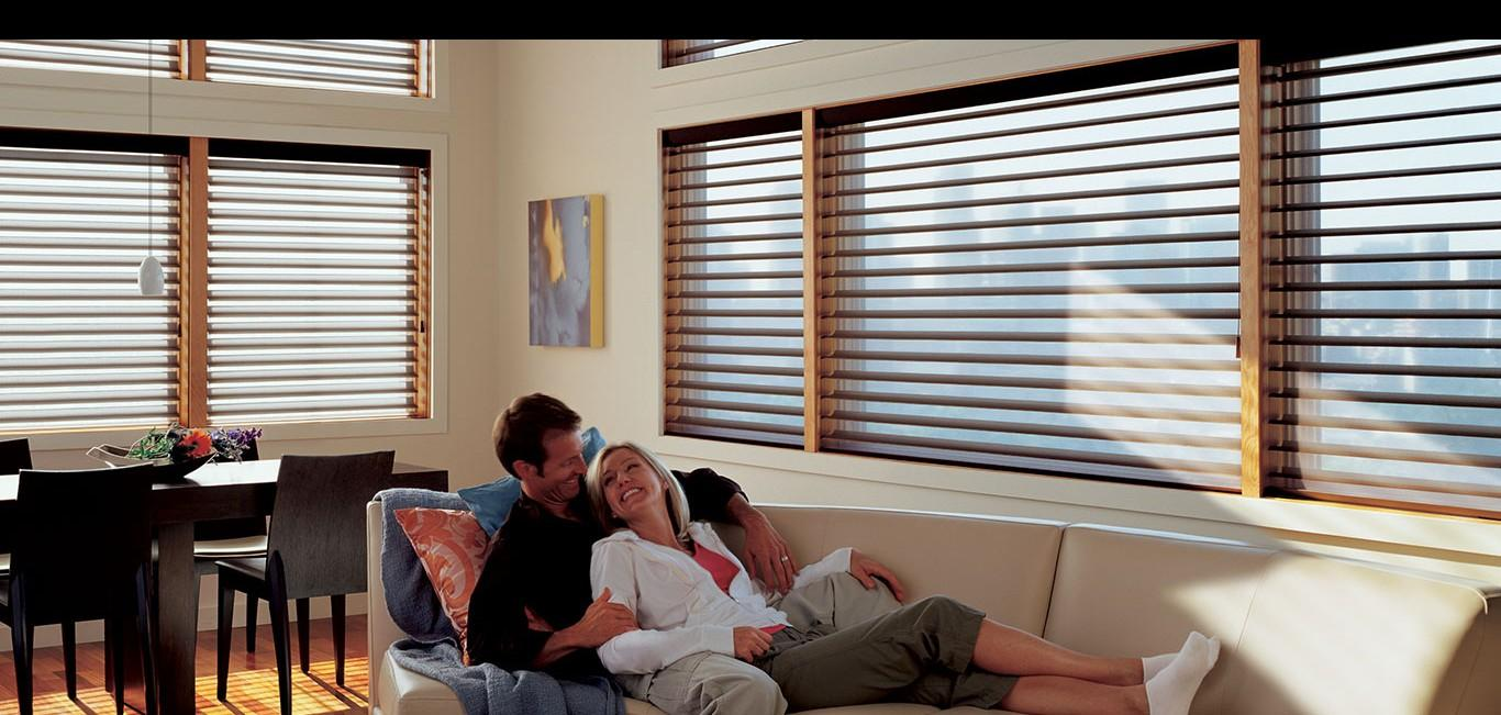 Cortina Silhouette® - Hunter Douglas -  Living (sala)